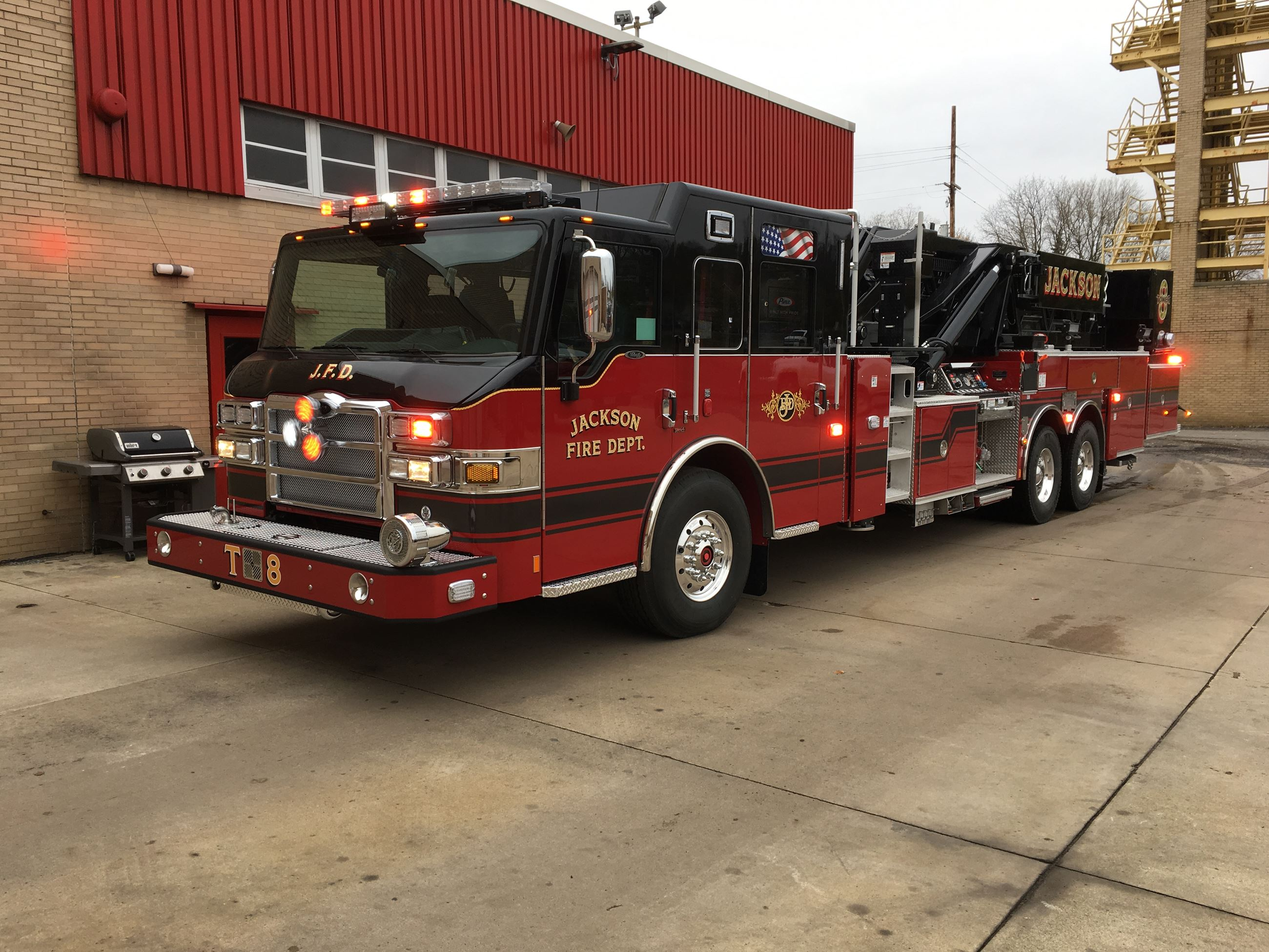 New fire truck in Jackson